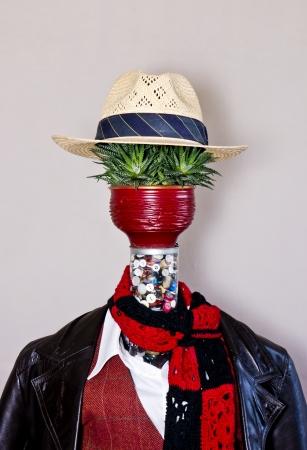 turnout gear: Nature man.