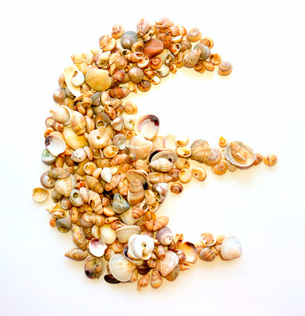 initials: Initials letter E. Stock Photo