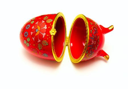 Photo Easter egg made %u200B%u200Bin the style of  Faberge eggs   photo