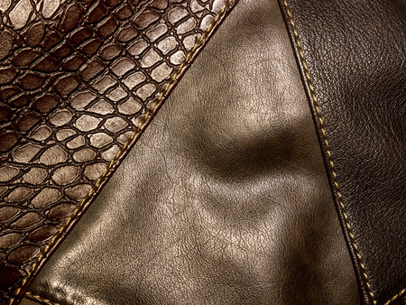 Leather texture. Stock Photo