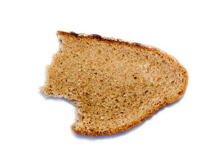 Stale bread. Stock Photo