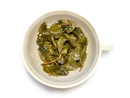 Used tea. photo