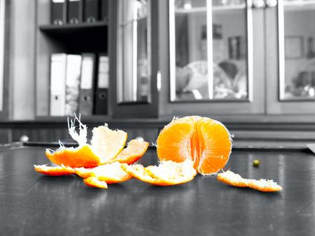 decomposed: The mandarin.