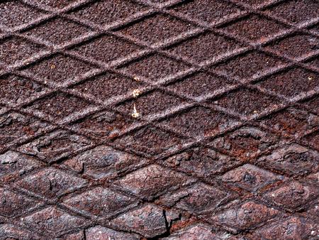 brassy: Metal background. Stock Photo