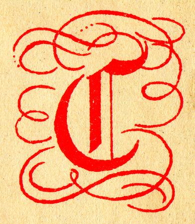 initials: Initials letter G.