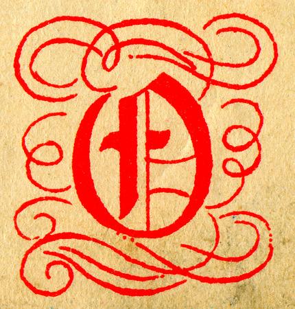initials: Initials letter Q.
