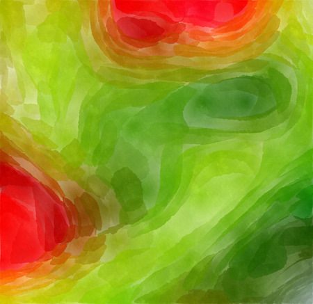 pied: The varicolored paint watercolor Abstract picture. Stock Photo