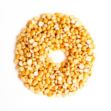 initials: The peas Initials letter O.