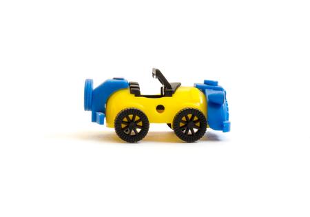 daimler: GOMEL, BELARUS - September 10, 2016: Miniature toy, made in DDR. DDR is the German acronym for Deutsche Demokratische Republik (German) a former state in Europe, 1949-1990.