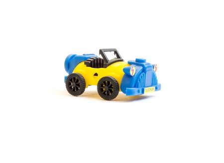 GOMEL, BELARUS - September 10, 2016: Miniature toy, made in DDR. DDR is the German acronym for Deutsche Demokratische Republik (German) a former state in Europe, 1949-1990.