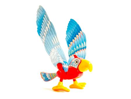 GOMEL, BELARUS - September 13, 2016: Kinder surpise Miniature toy bird, by Ferero. Ferrero SpA  is an Italian manufacturer of branded chocolate.