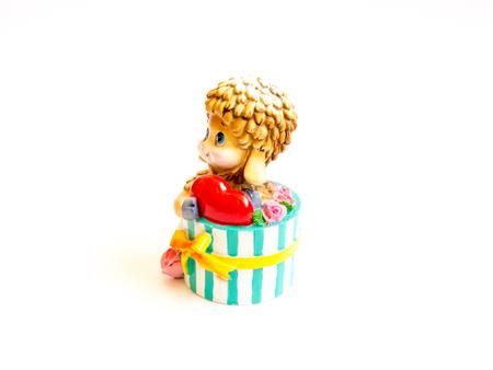 kinder: GOMEL, BELARUS - September 10, 2016: Kinder surpise Miniature toy child, by Ferero. Ferrero SpA  is an Italian manufacturer of branded chocolate.
