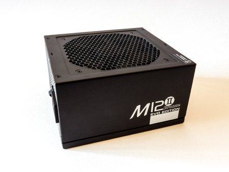 retailer: GOMEL, BELARUS - September 15, 2016: Power Supply Seasonic M12-2.Sea Sonic Electronics Co., Ltd. is a power supply and computer PSU manufacturer and retailer.