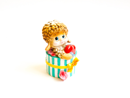 GOMEL, BELARUS - September 10, 2016: Kinder surpise Miniature toy child, by Ferero. Ferrero SpA  is an Italian manufacturer of branded chocolate.