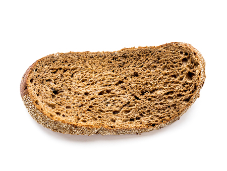 The isolated Dry rye bread. Stok Fotoğraf