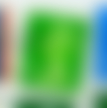 The varicolored blur Abstract picture in green and blue. Imagens