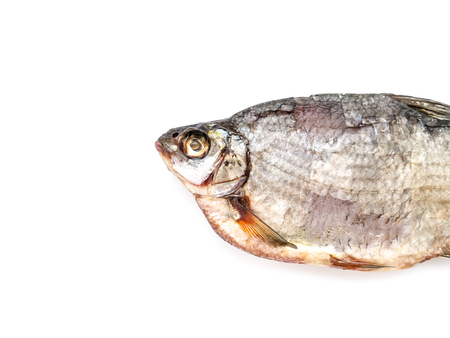 The Dried Fish Bream isolated. Standard-Bild