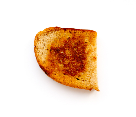 Stale toasted bread.