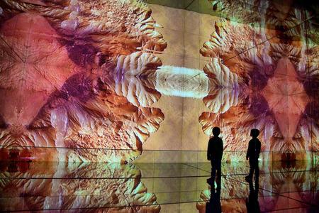 abstracto: City of Arts and Sciences in Valencia