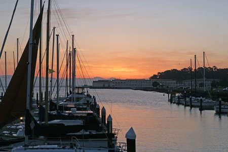 san francisco marina at sunrise Stock Photo - 255016