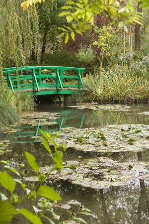 Monets garden at Giverny photo