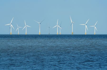 windy energy: Offshore wind farm