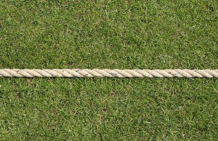 Cricket boundary rope