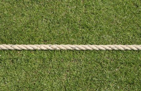 bowl game: Cricket boundary rope