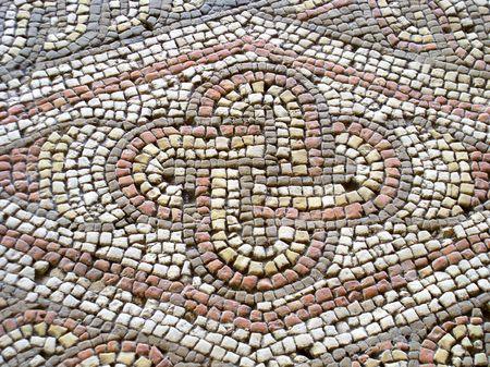 Mosaic floor  photo