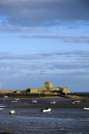 St Aubin Fort, Jersey Stock Photo
