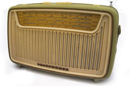 wellenl�nge: Retro radio Lizenzfreie Bilder