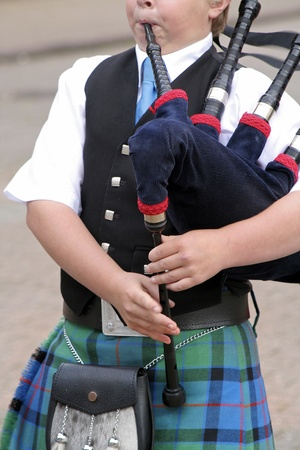 bagpipes: Scottish bagpipes