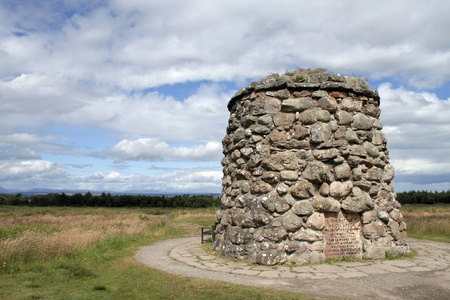 Culloden monument Stock Photo