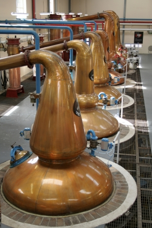 Whisky distillery Editorial