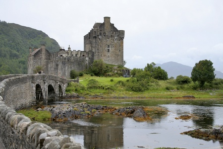 Highland castle Editorial