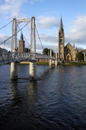 Inverness bridge Stock Photo