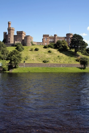Castle at Inverness Stock Photo - 12037418