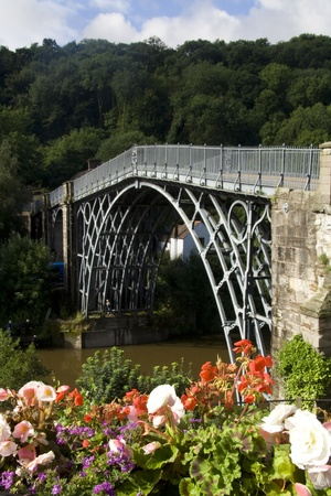 Ironbridge Gorge Stock Photo