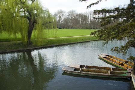 cambridge: Punting at Cambridge University