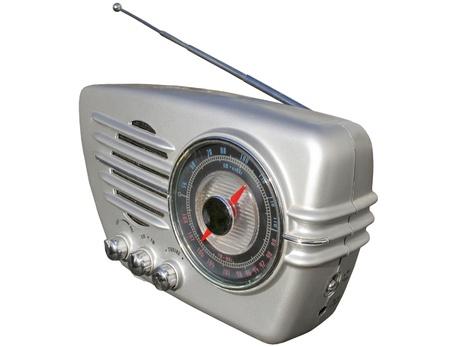 radio retr�: Retro radio Archivio Fotografico