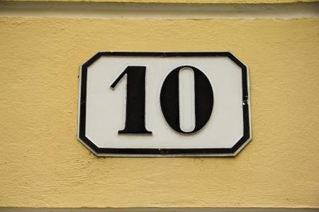numero diez: N�mero diez
