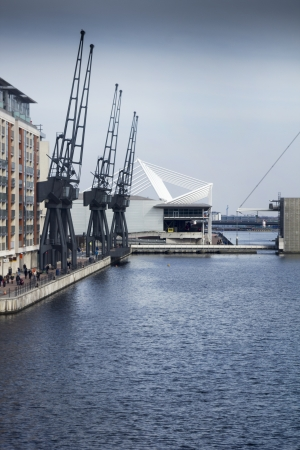 industry moody: London docklands