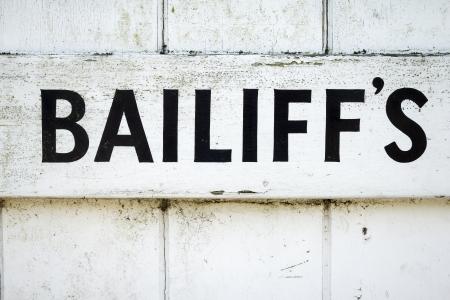 Bailiff s Stock fotó