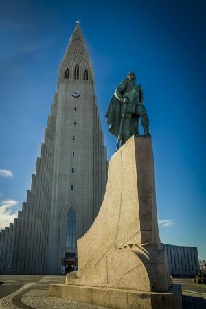 reykjavik: Reykjavik landmarks