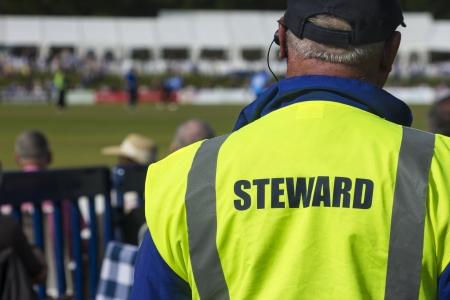 Sports steward