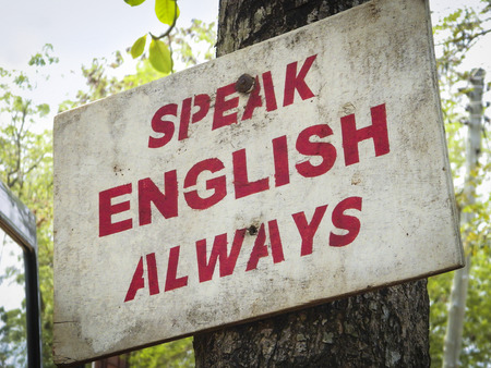 Speak English