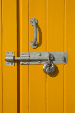 door lock: Lock and bolt Stock Photo
