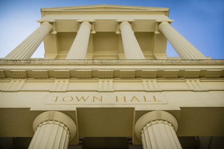 local government: Grand town hall