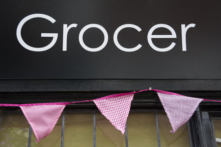 grocer: Grocer Stock Photo