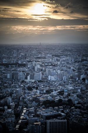 Tokyo cityscape Reklamní fotografie